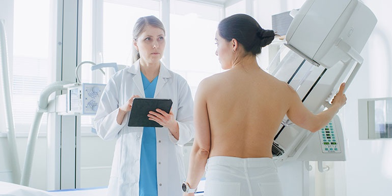 Screening mammography is linked to a reduction in breast cancer mortality, a new study shows